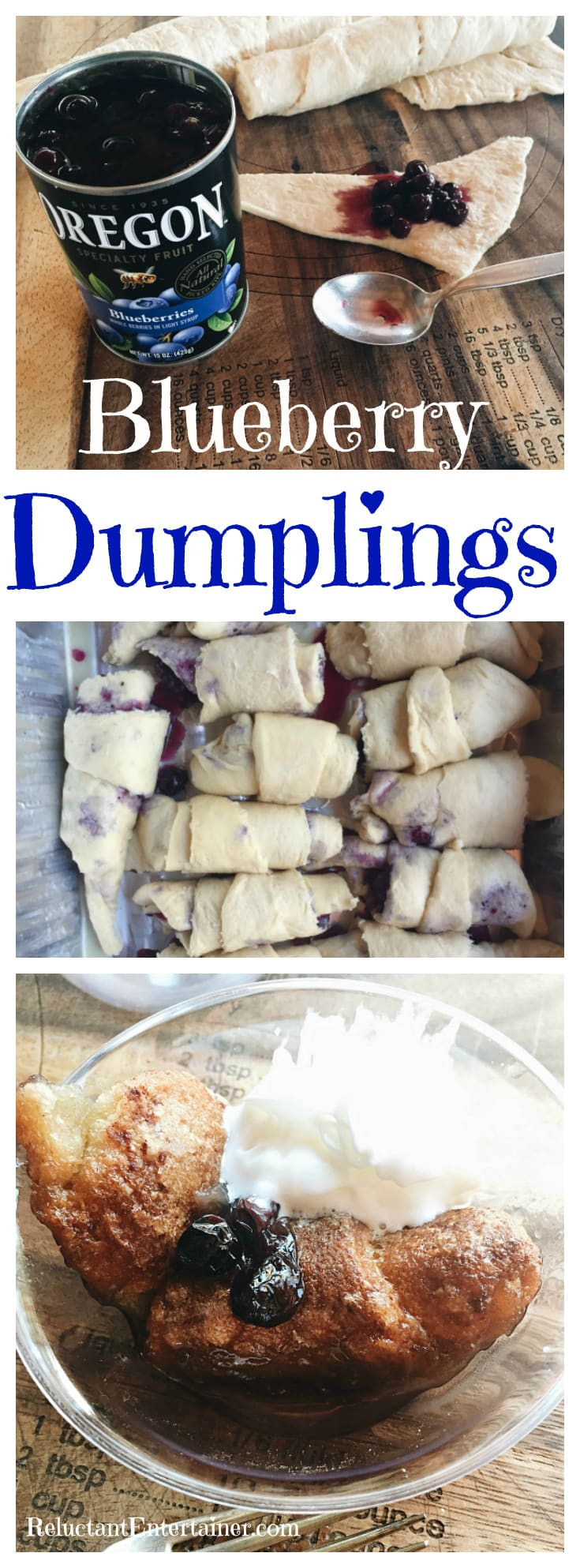 Blueberry Dumplings Recipe