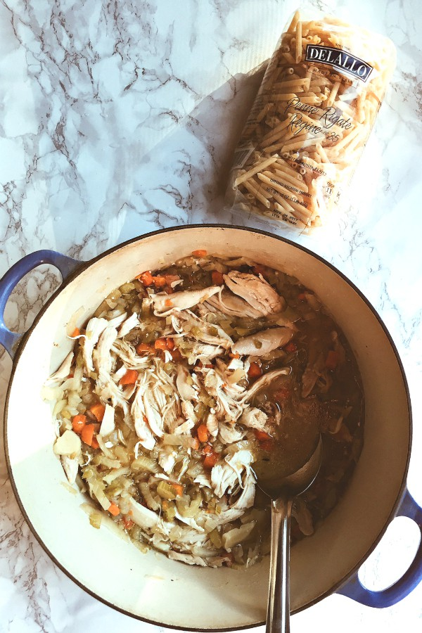 One-Pot Chicken Vegetable Soup