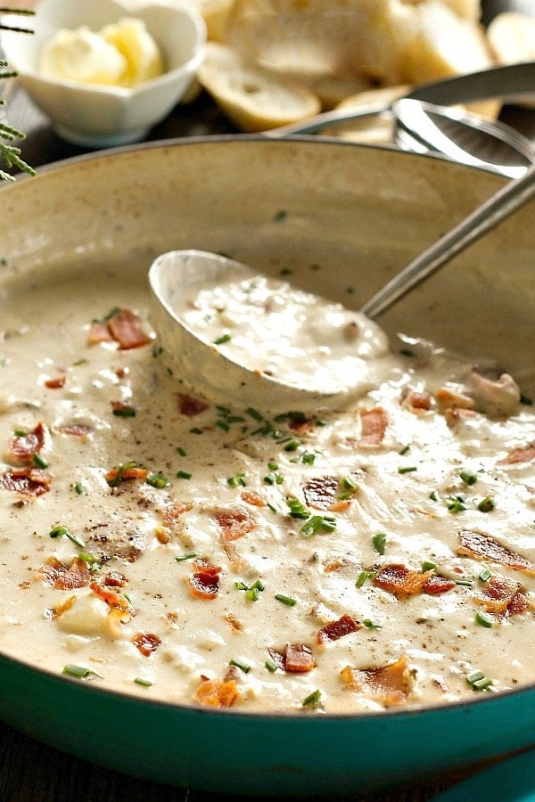 Best Clam Chowder | ReluctantEntertainer.com