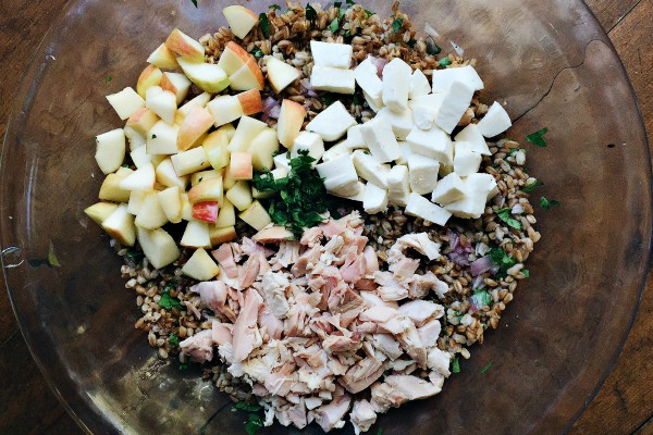 with the apples. My favorite kind of salad. Add in a soft Mozzarella ...