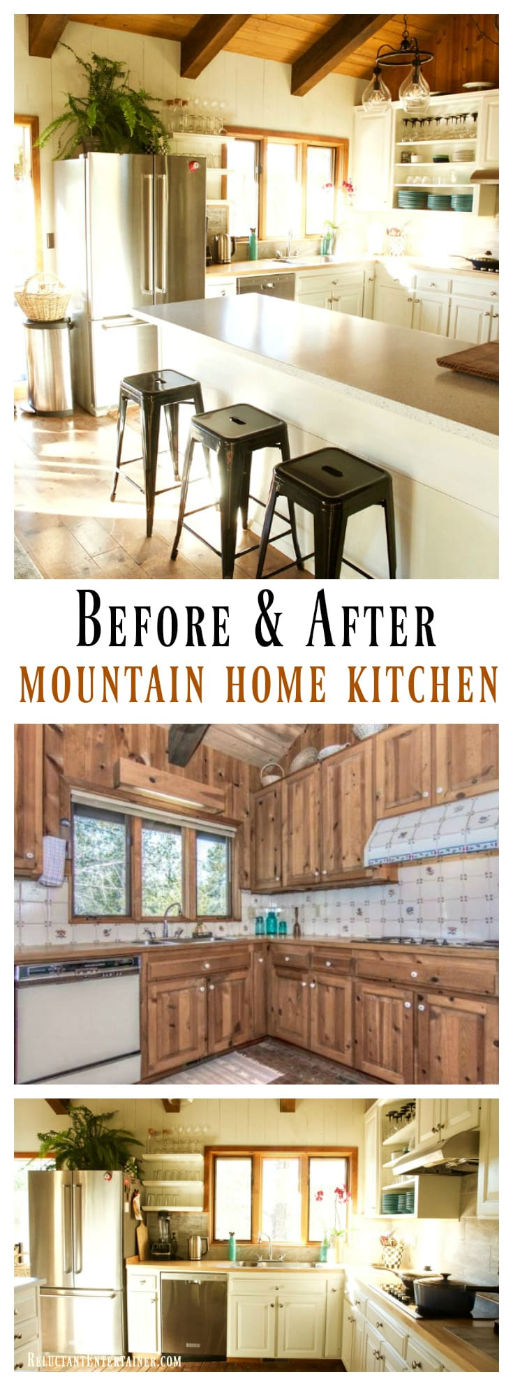 Mountain Home Renovation Final Reveal at ReluctantEntertainer.com