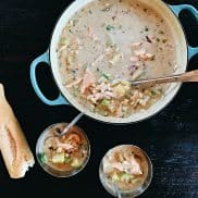 Corn Salmon Chowder Recipe