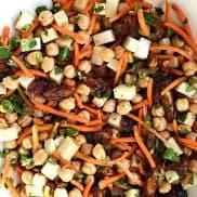 Garbanzo Carrot Date Salad