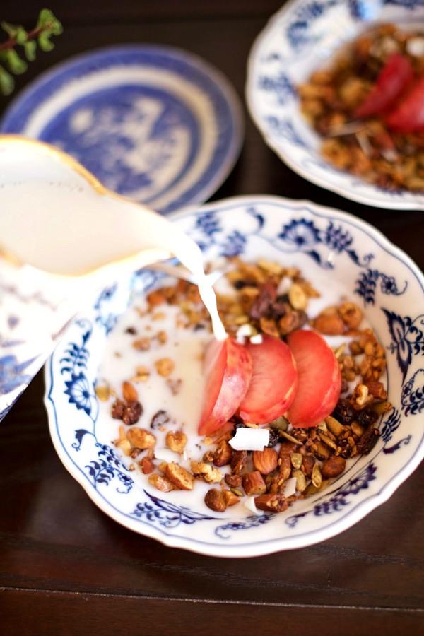 Grain Free Granola Recipe at ReluctantEntertainer.com