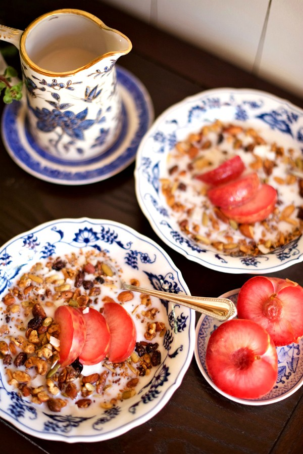 Grain Free Granola Recipe at ReluctantEntertainer.com