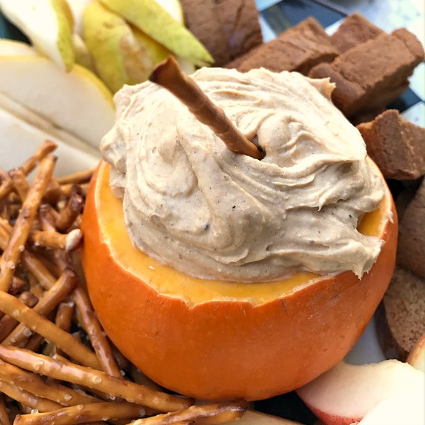 Pumpkin Cream Cheese Dip at ReluctantEntertainer.com