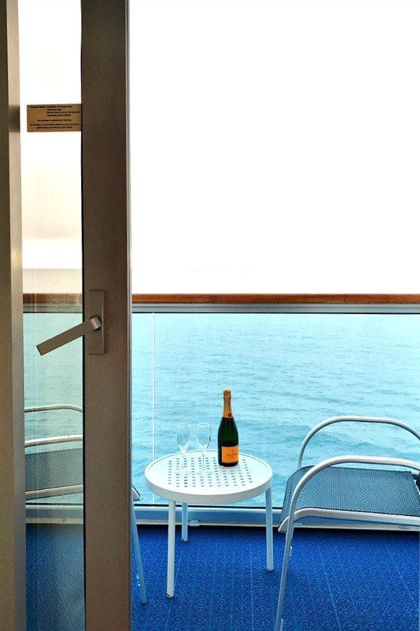 Ruby Princess Balcony Room Lobster Dinner Reluctant