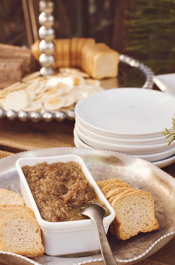 Duck Liver Mousse Crescents Recipe