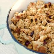 Chicken Sausage Apple Cornbread Stuffing