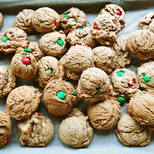 Whole Wheat M and M Cookies Recipe