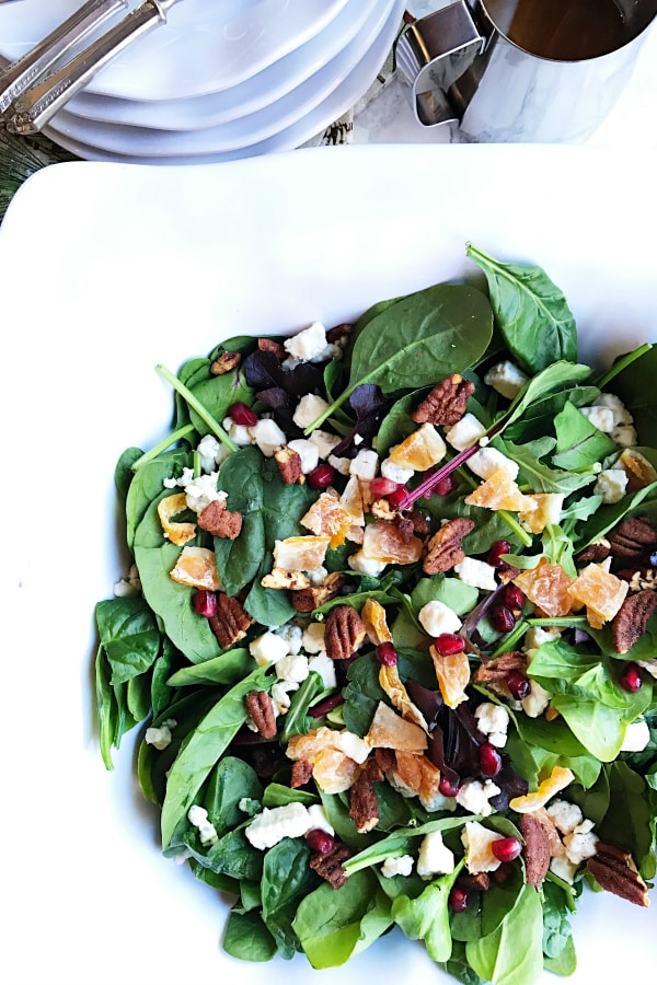 Quick Easy Green Salad Recipe Reluctant Entertainer
