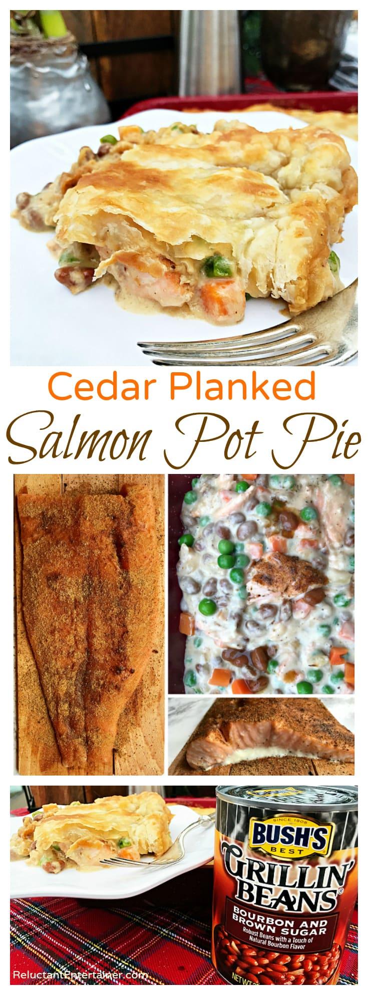 Cedar Planked Salmon Pot Pie