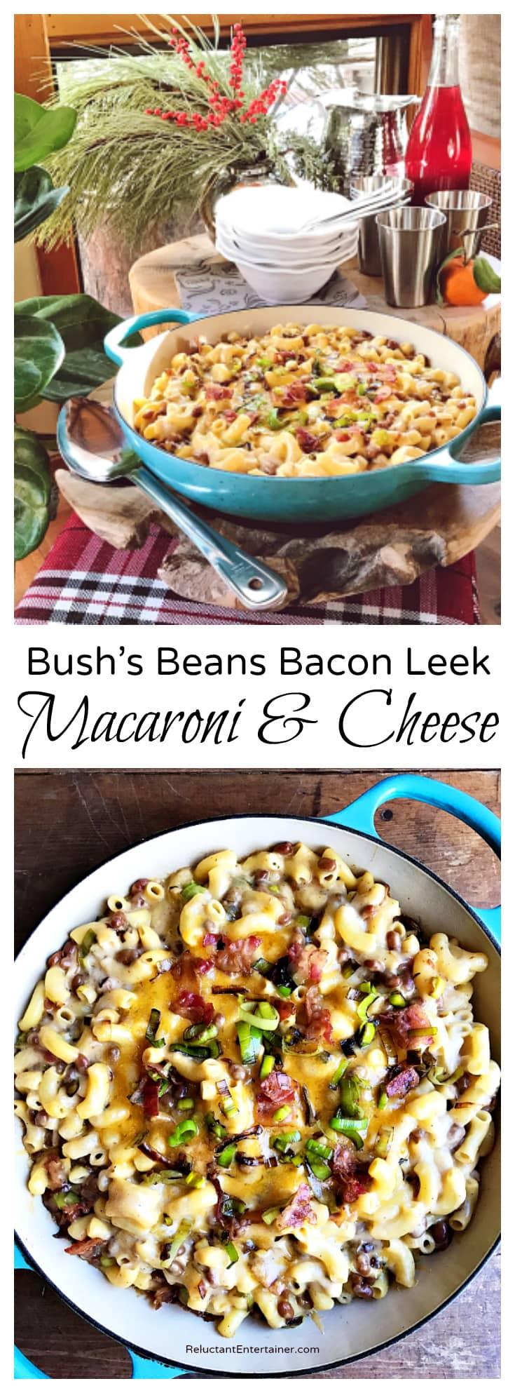Bush's Beans Bacon Leek Macaroni and Cheese