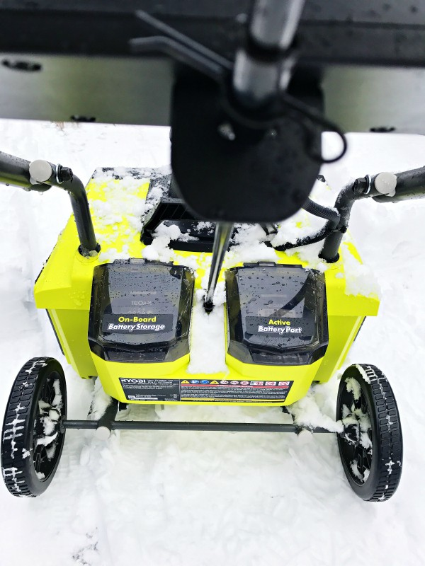 Ryobi Brushless Snow Blower for Winter