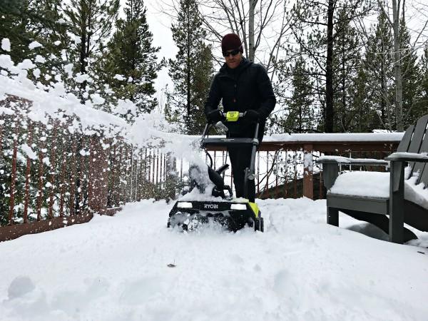 Ryobi Brushless Snow Blower for Winter