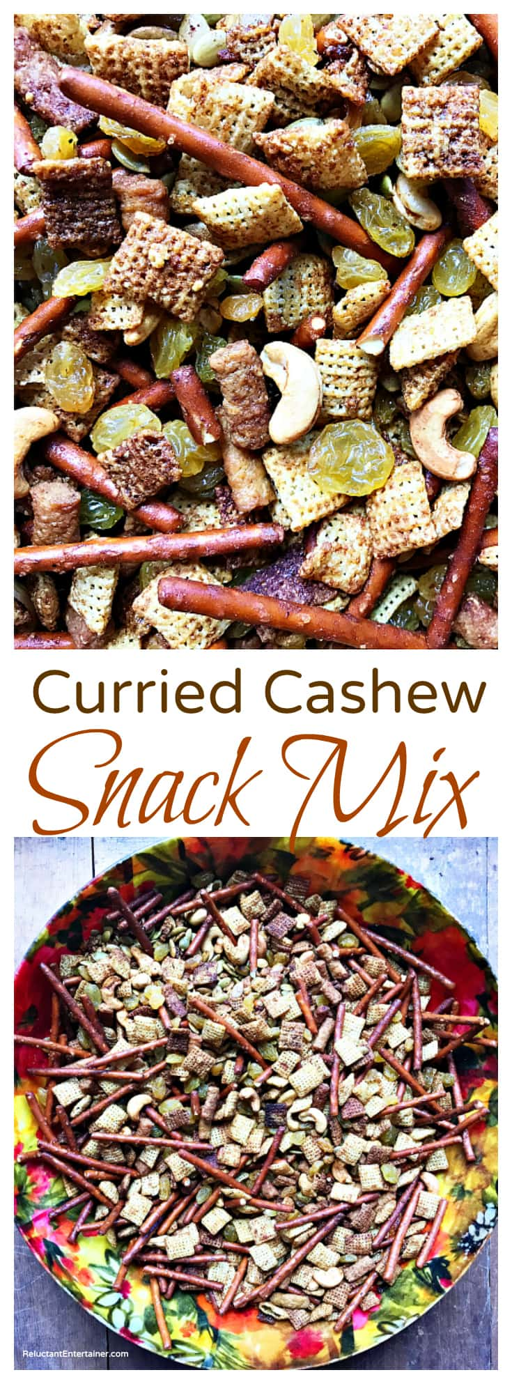 Curried Cashew Snack Mix