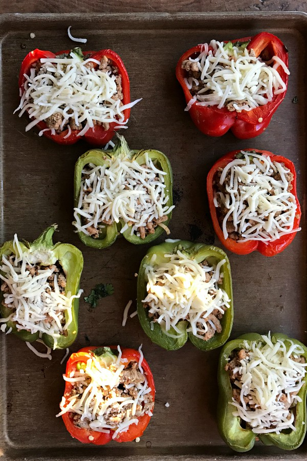Taco-Stuffed Peppers Recipe - HOW TO