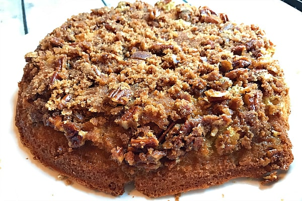 Pecan Upside Down Cake Recipe
