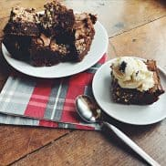 BEST Chocolate Hazelnut Brownies