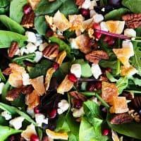 Quick Easy Green Salad Recipe