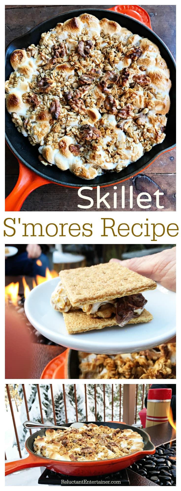 Skillet S'mores Recipe