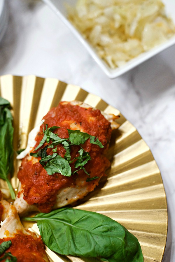 Mozzarella Chicken Marinara Recipe - Reluctant Entertainer