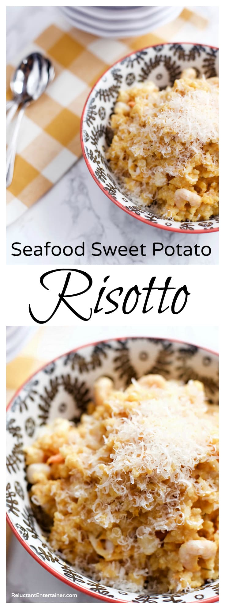 Seafood Sweet Potato Risotto Recipe