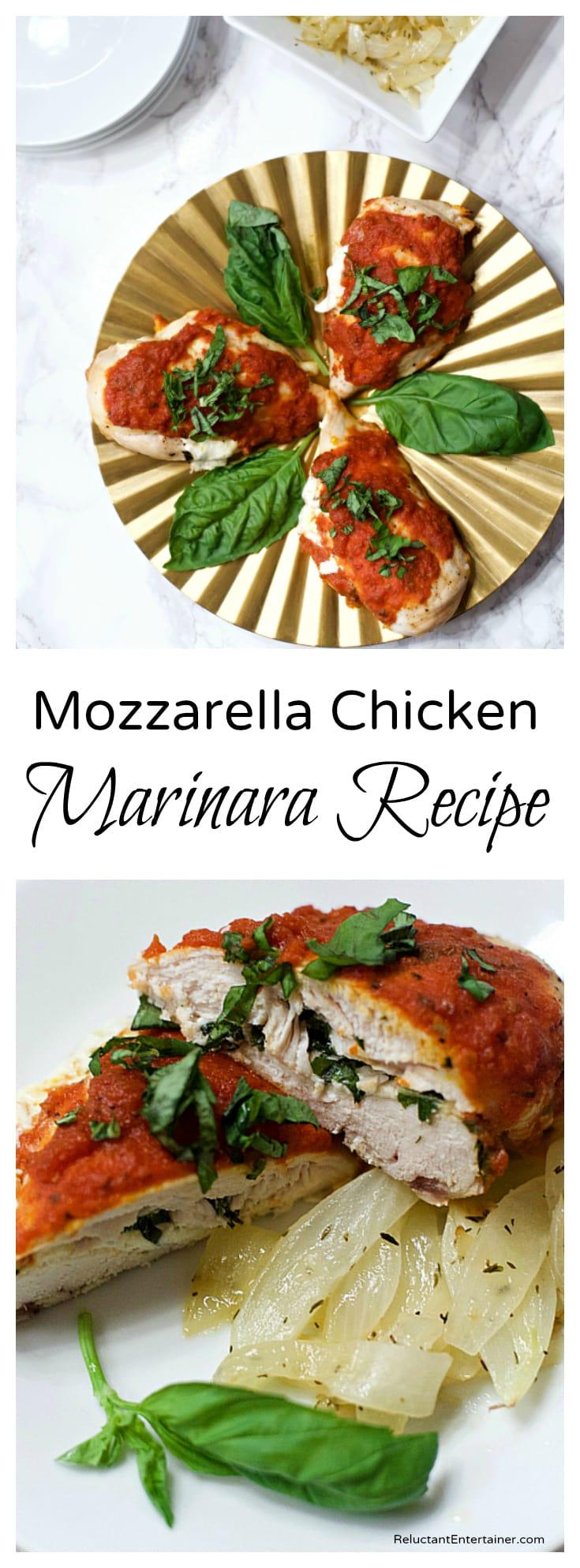 Mozzarella Chicken Marinara Recipe