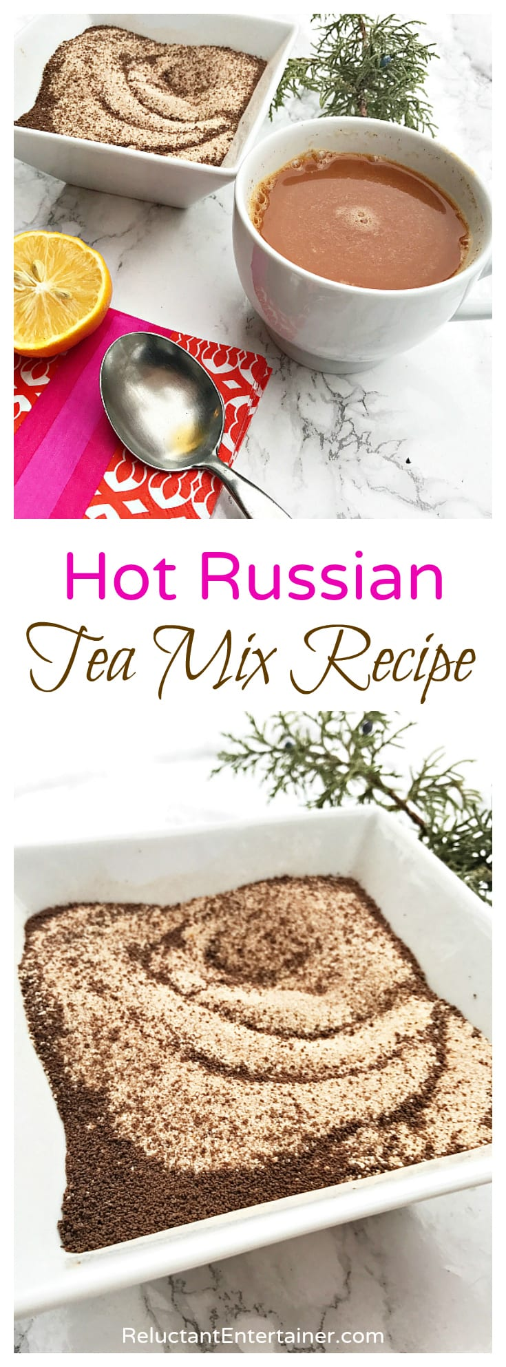 Hot Russian Tea Mix Recipe