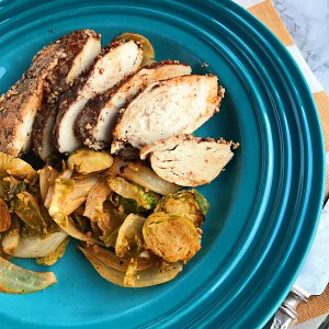 Oven Roasted Sumac Chicken with Veggies