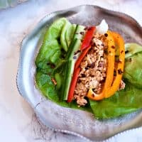Butter Leaf Lettuce Spicy Tuna Recipe