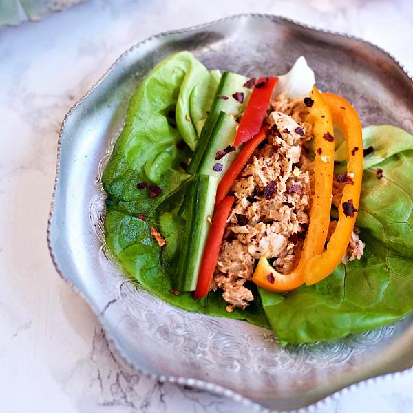 Butter Leaf Lettuce Spicy Tuna Recipe