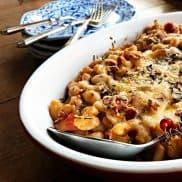 Cheesy Italian Baked Cannelini Beans