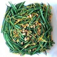 Cashew Green Beans with Orange Zest
