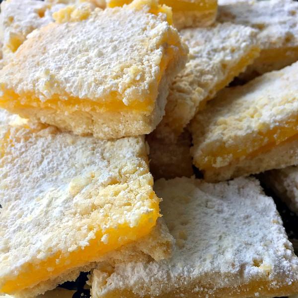 BEST Lemon Squares Recipe