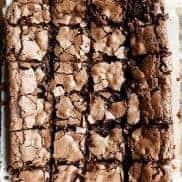 BEST Chocolate Mint Walnut Brownies
