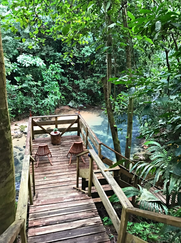 Jaquar Creek, Belize - a Rainforest Experience