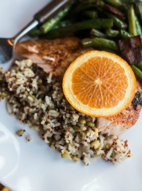 Baked Orange-Spiced Salmon Recipe