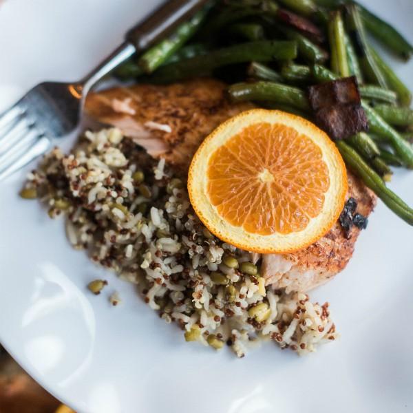 Baked Orange-Spiced Salmon Recipe