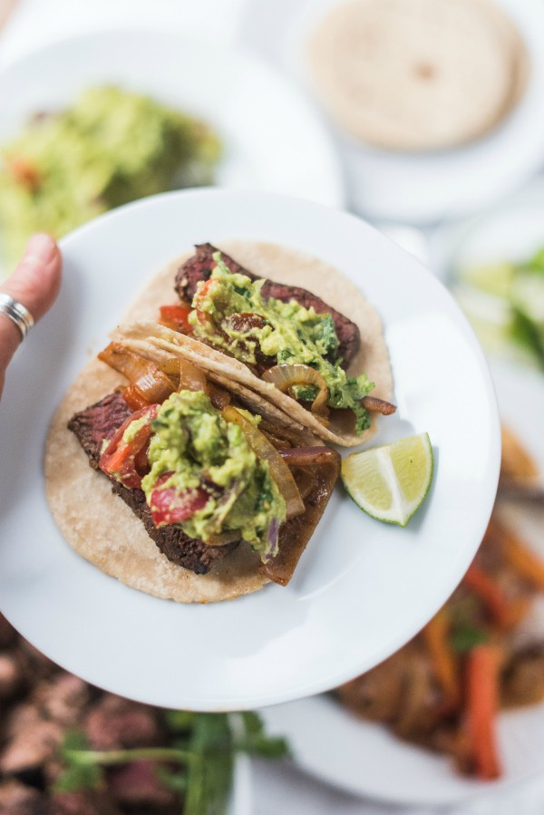 This Chili Lime Steak Fajita Tacos Recipe is a great for casual ...