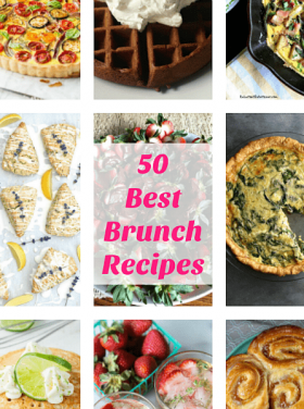 Holiday Entertaining: 50 Best Brunch Recipes