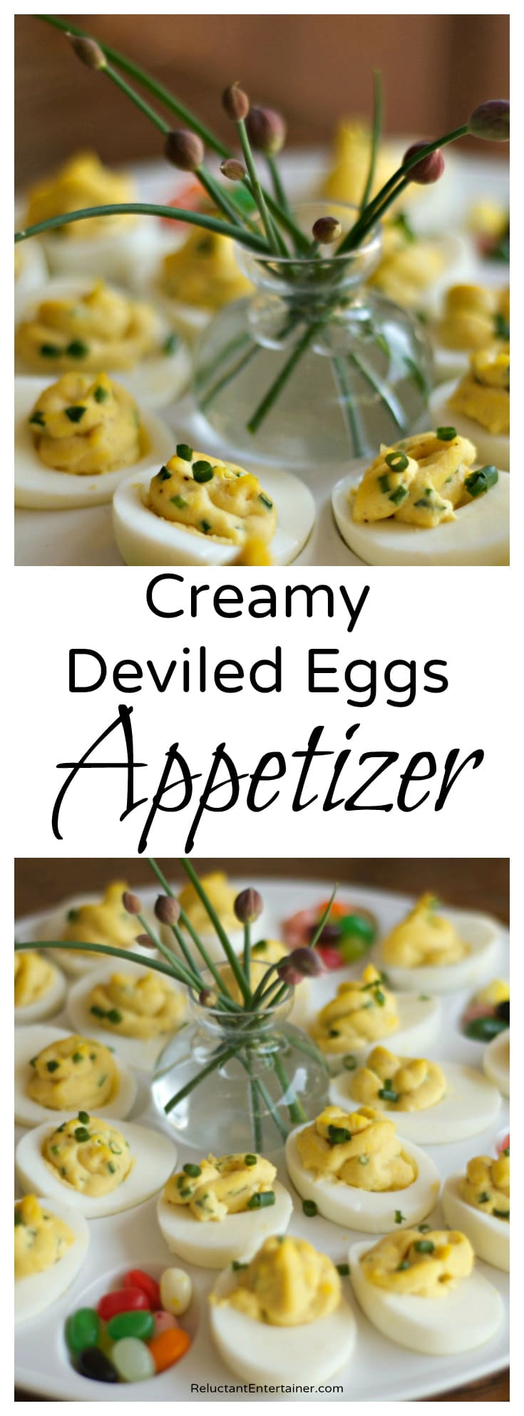 Creamy Deviled Eggs Appetizer Recipe