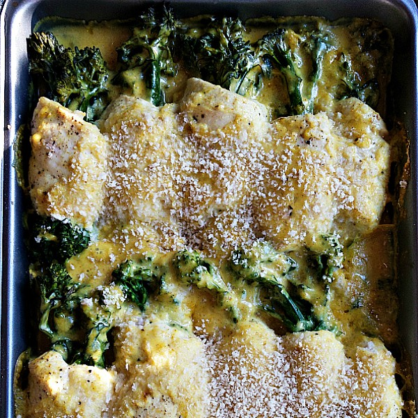 Rolled Broccolini Curried Chicken Divan