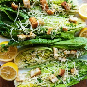 Romaine Wedge Salad with Meyer Lemon