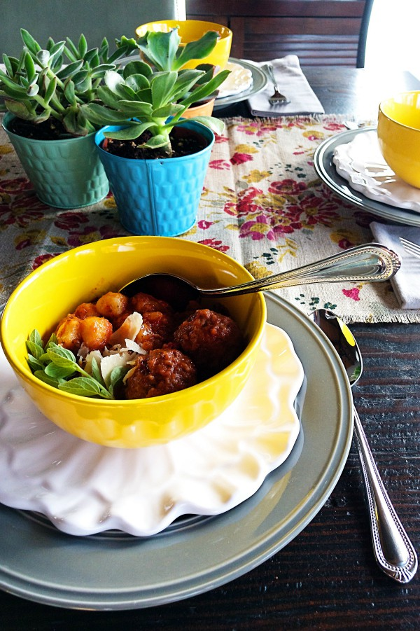 Slow Cooker Meatball Gnocchi Soup