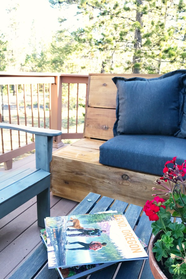 Sunset Magazine Inspired DIY Outdoor Sectional!