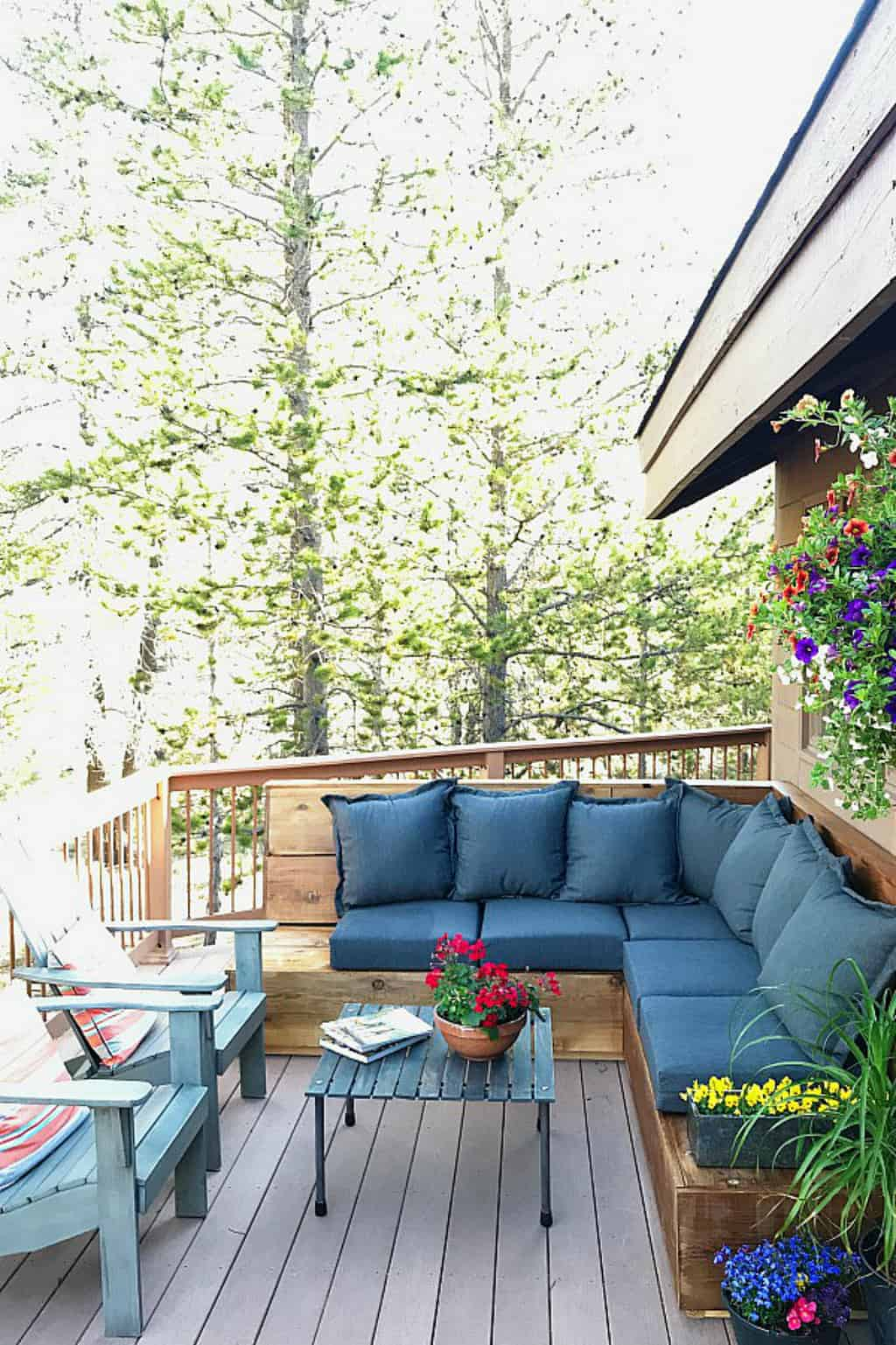 Sunset Magazine Inspired Diy Outdoor Sectional Reluctant