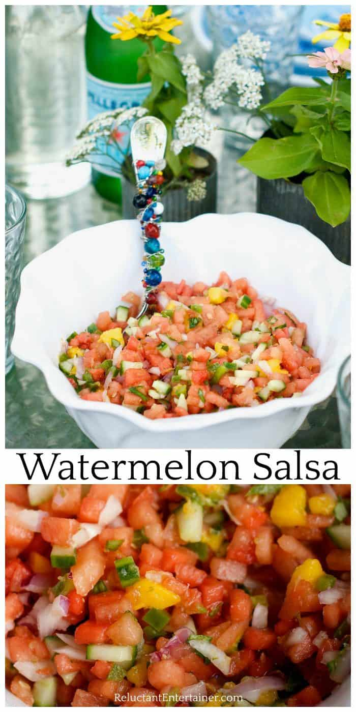 Easy Watermelon Salsa