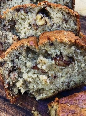 Secret Walnut Banana Bread Recipe