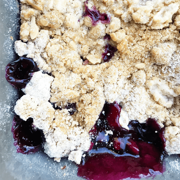 Raspberry Blueberry Granola Crisp Recipe